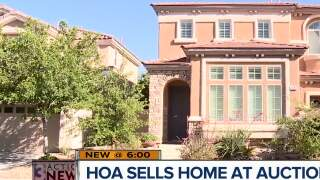 HOA sells home at auction