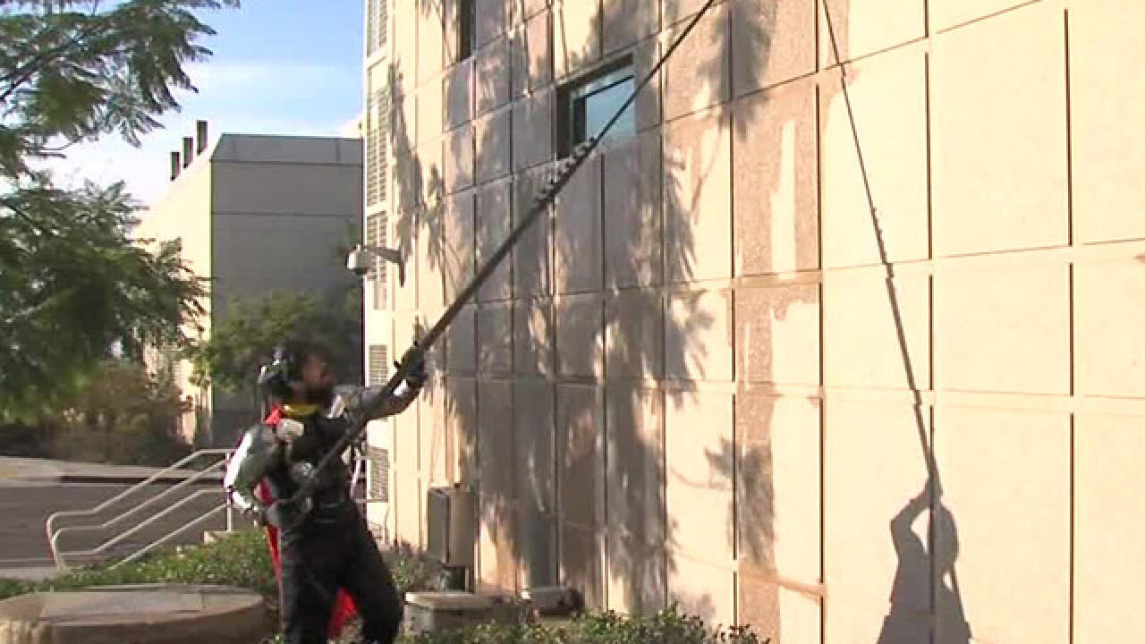 Superheroes surprise Rady Children's Hospital patients on Halloween