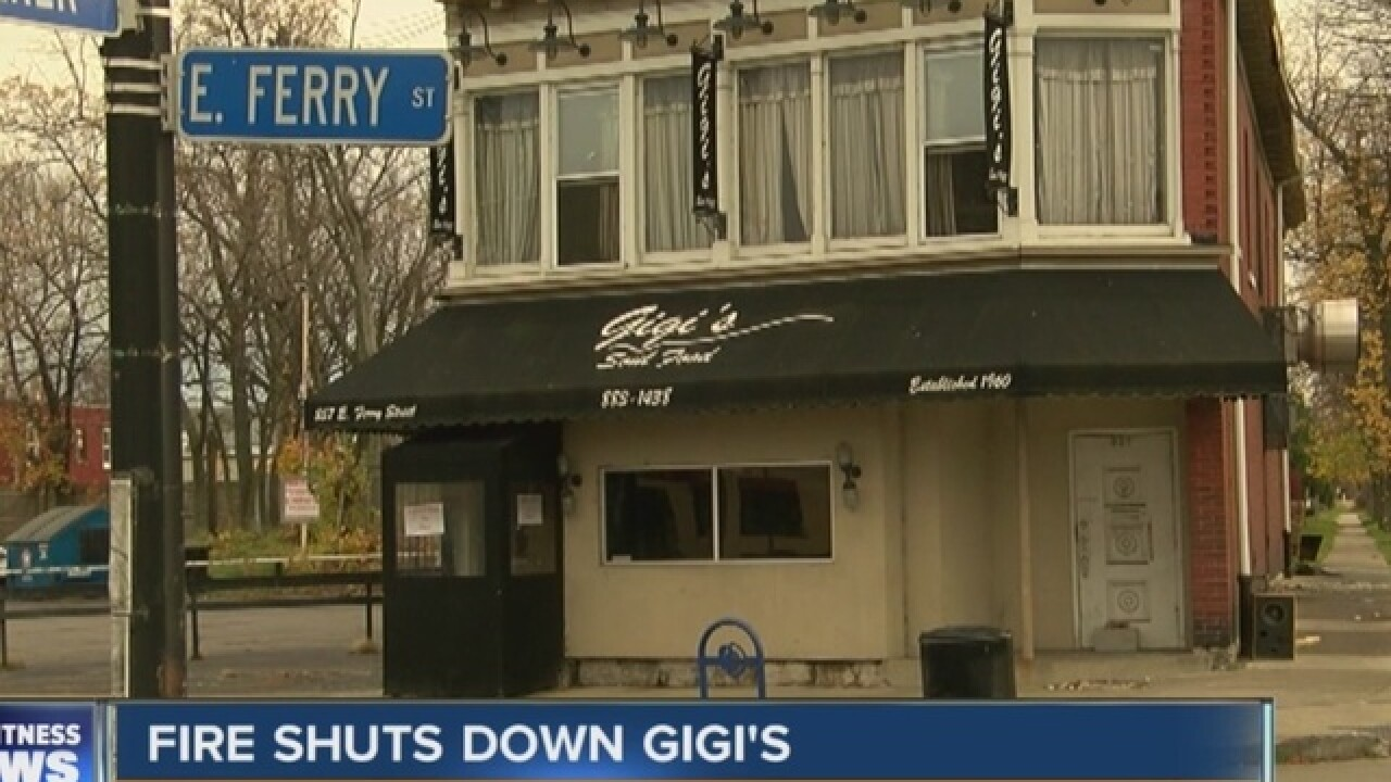 Fire that destroyed GiGi's ruled accidental