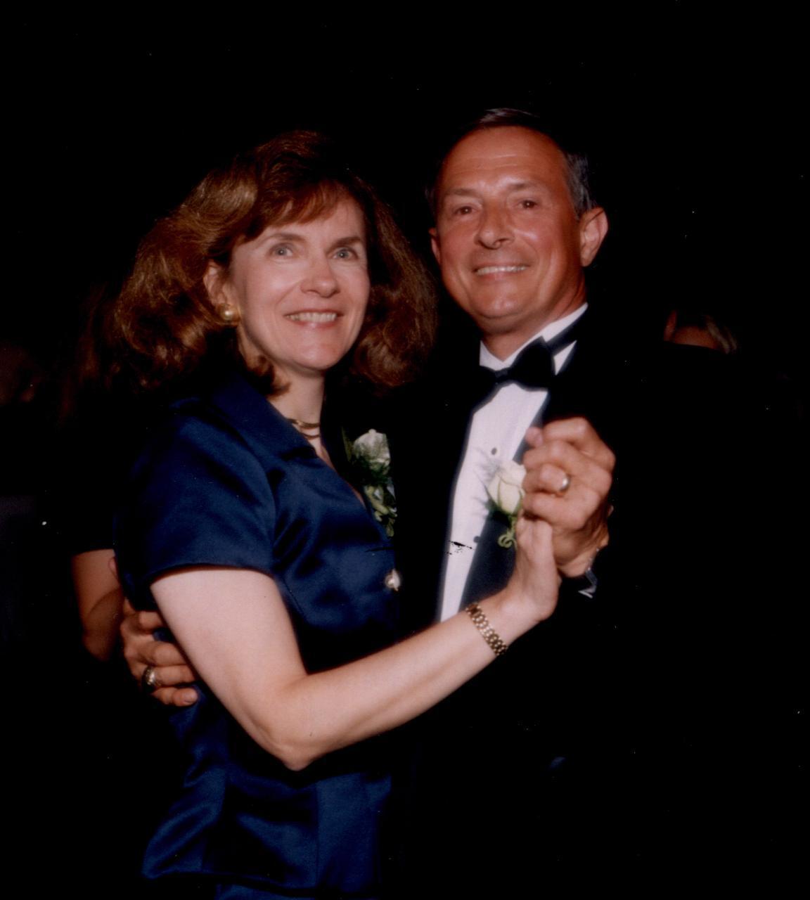 Paula Kollstedt and her husband, Steve, who died in 2014 from Alzheimer's.