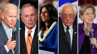 Super Tuesday Democratic candidates