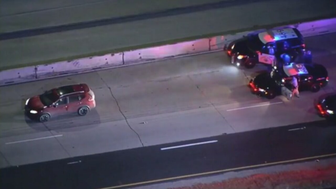 San Diego driver leads CHP officers on high speed chase