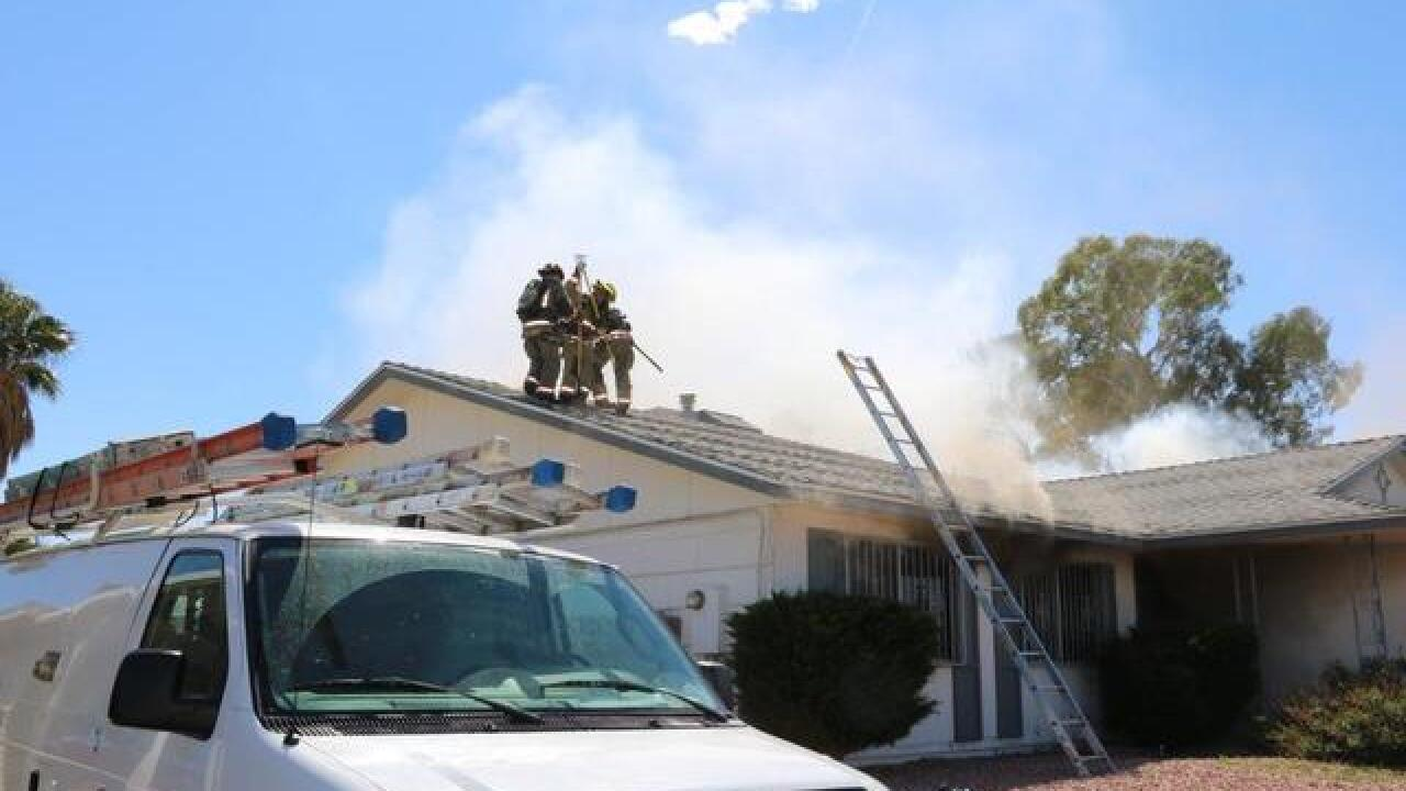 Red Cross assisting 3 after house fire