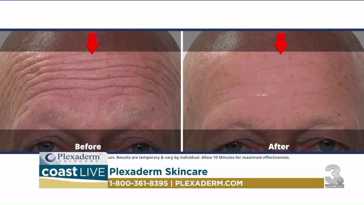Reducing under eye bags and wrinkles on CoastLive