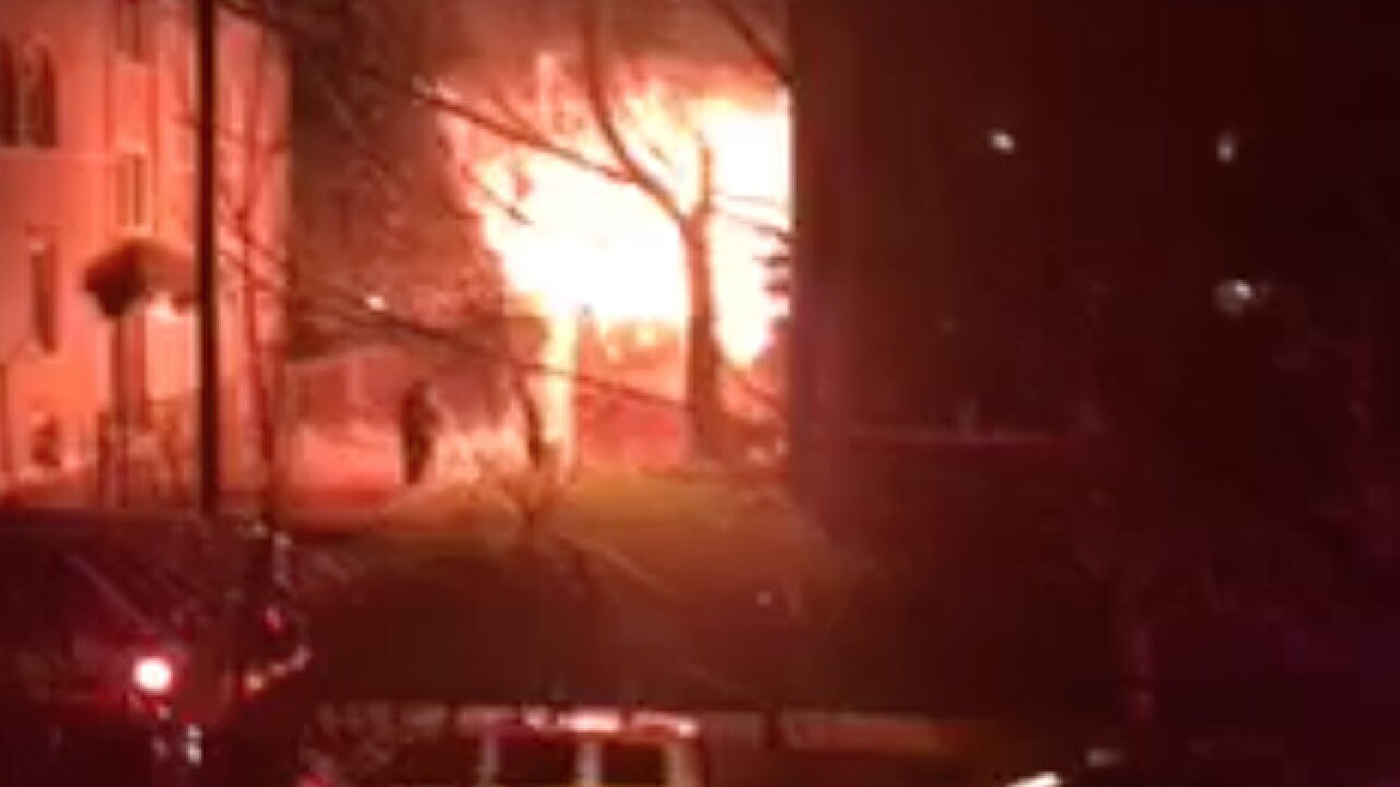14 people displaced because of apartment fire