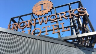 PHOTOS: Inside Ironworks Hotel in Indy