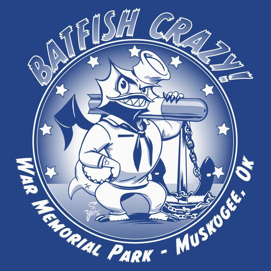 'Batfish Crazy' shirts