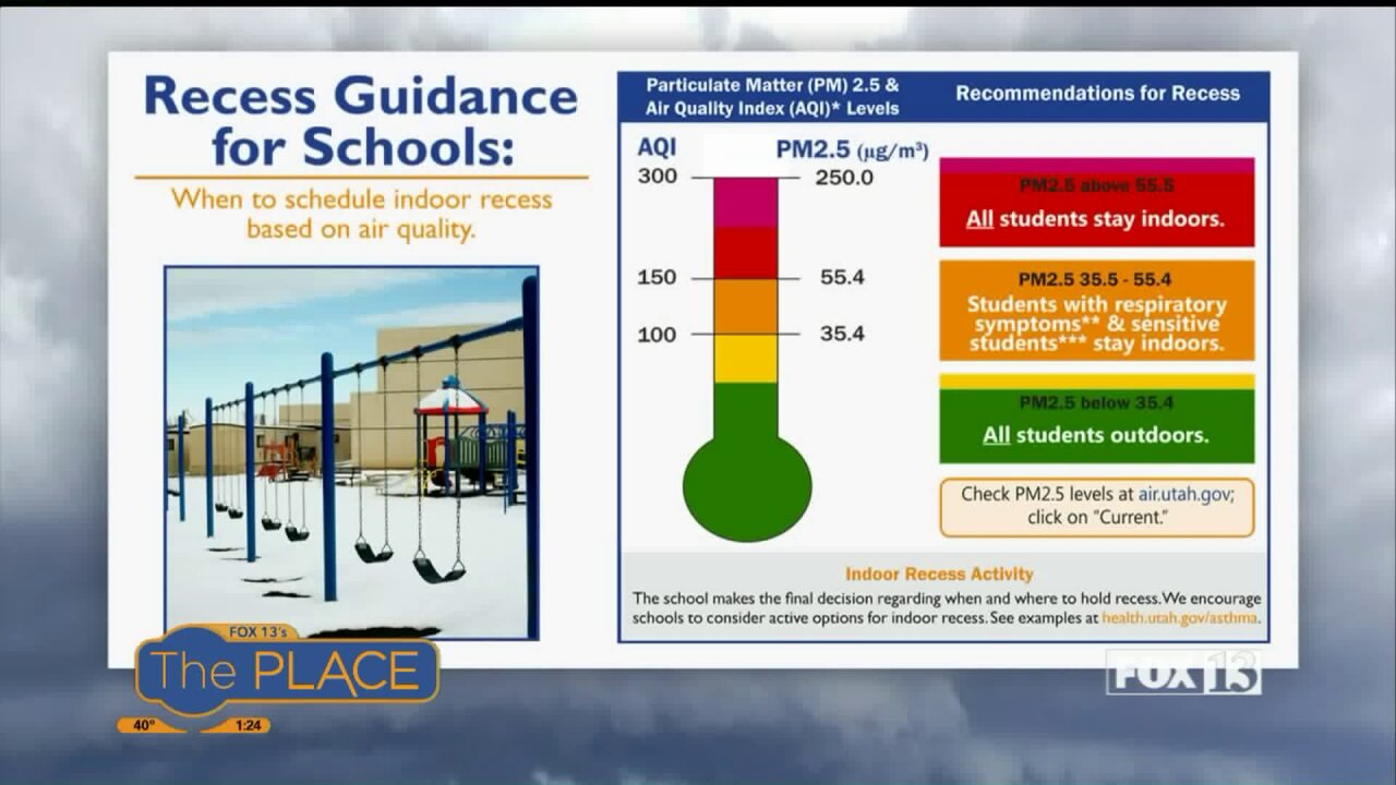 Did you know there's a recess guideline for parents and schools during airpollution?