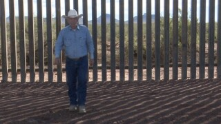 Border wall construction underway on Southern Arizona ranch