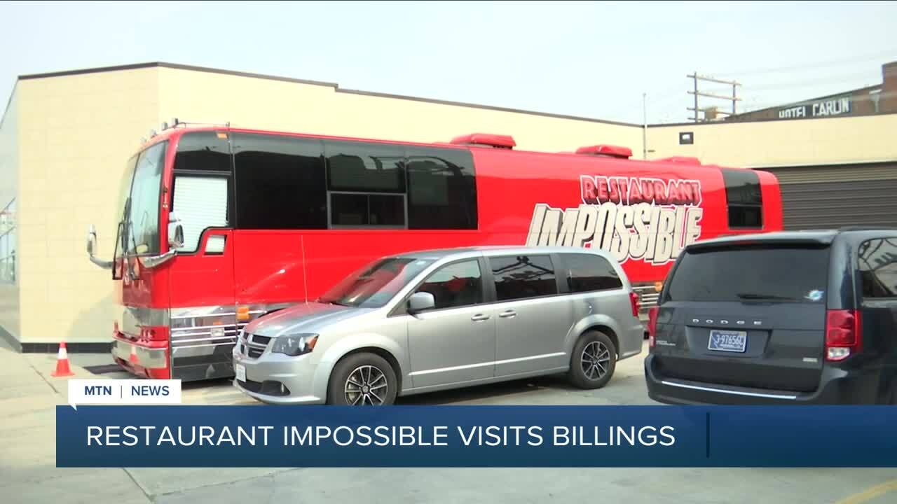 """Restaurant: Impossible"" visits Billings restaurant"