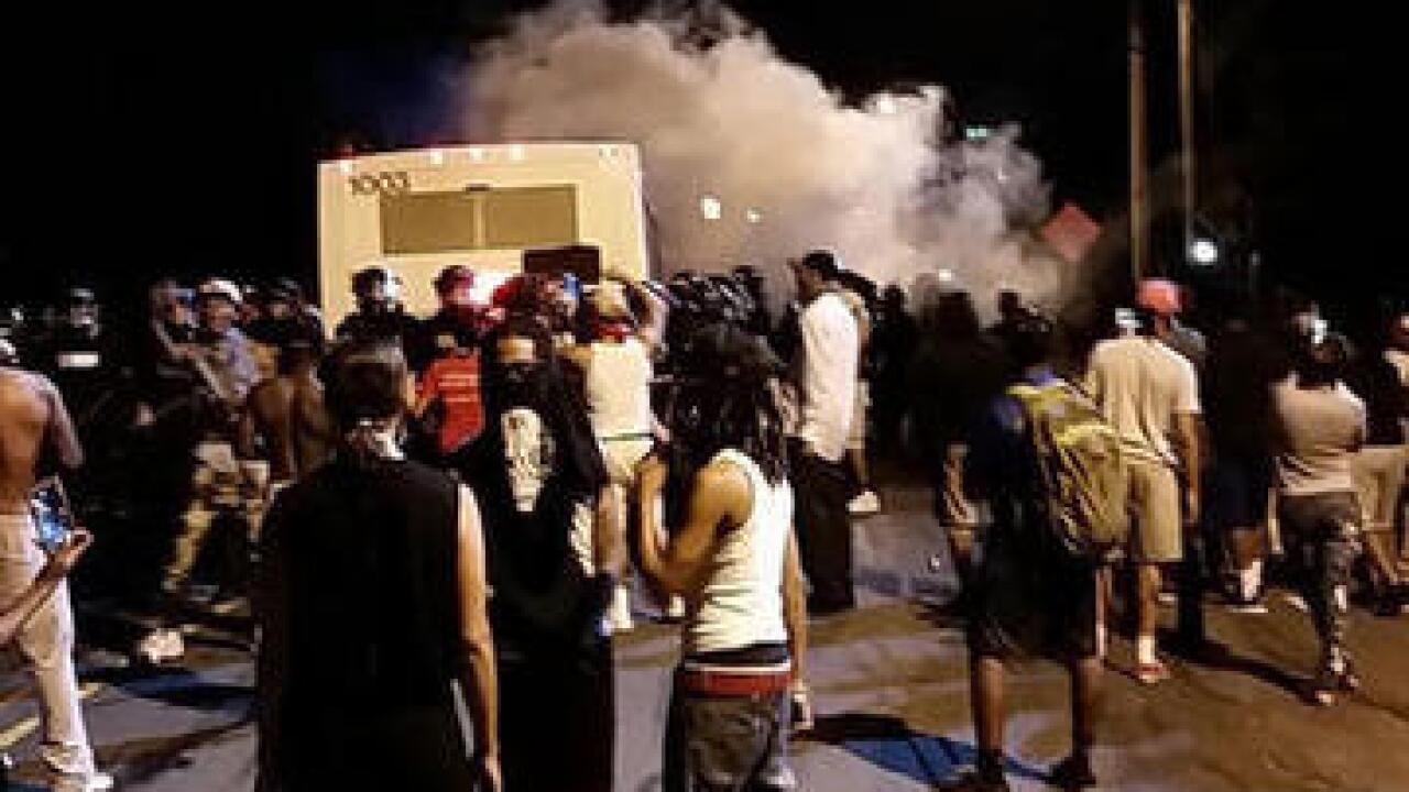 Charlotte police shooting protests go to highway