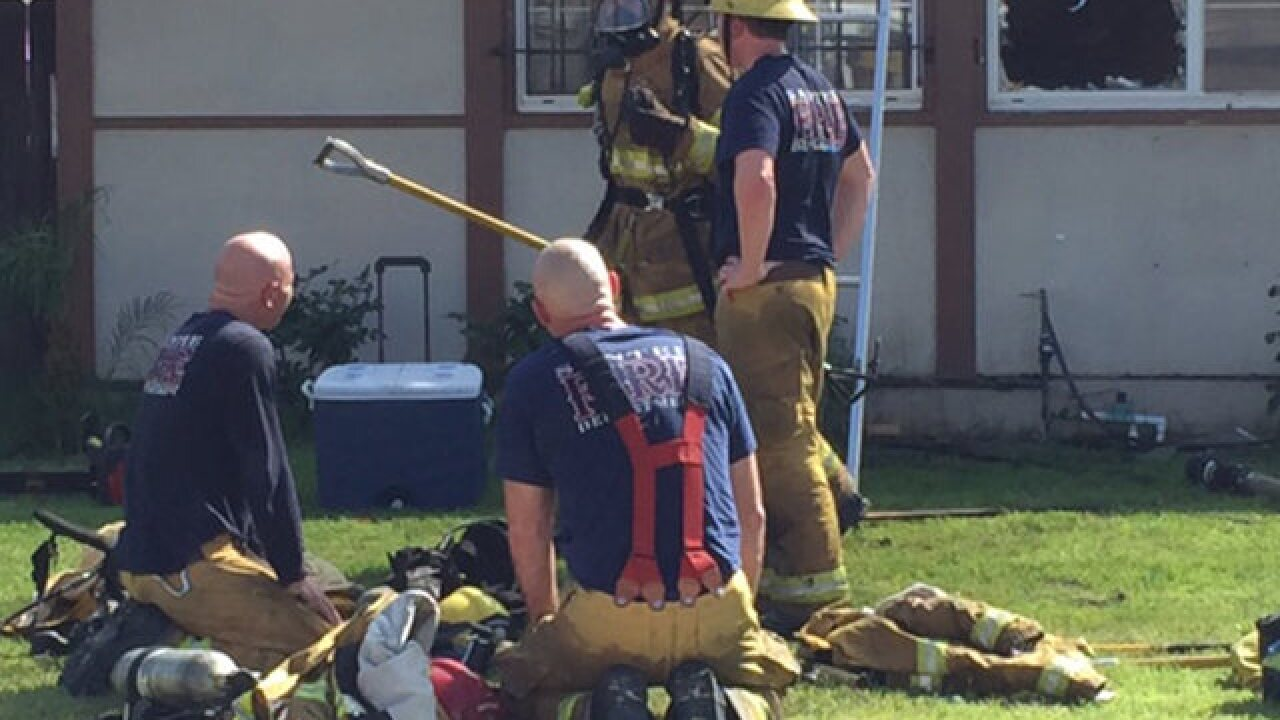 Dog, cat killed in Santee house fire