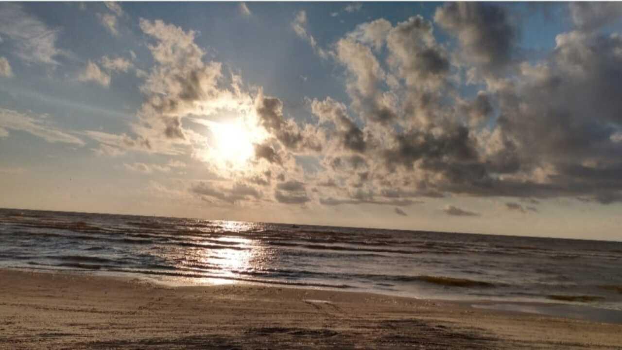 Sunrise at Whitecap Beach - Photo By: FB Coastal Bend Weather Watcher Belinda Barragan