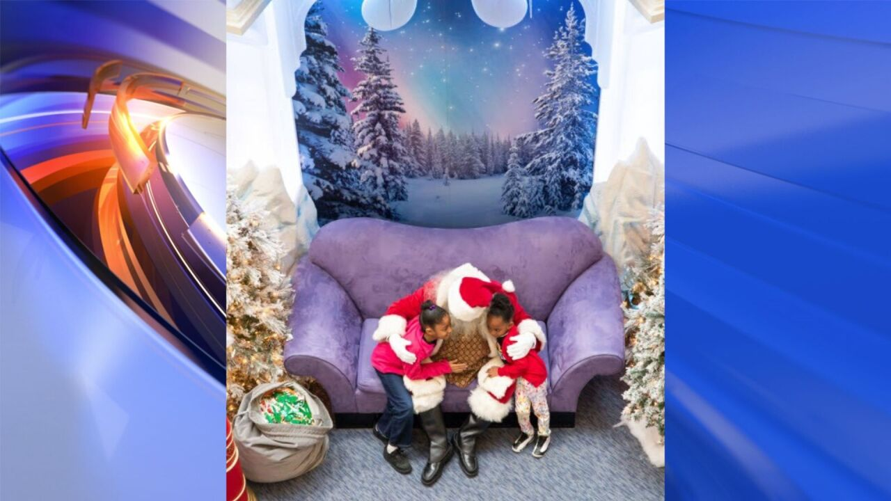 MacArthur Center introduces 'Calming Santa' for guests who need sensory friendly environment