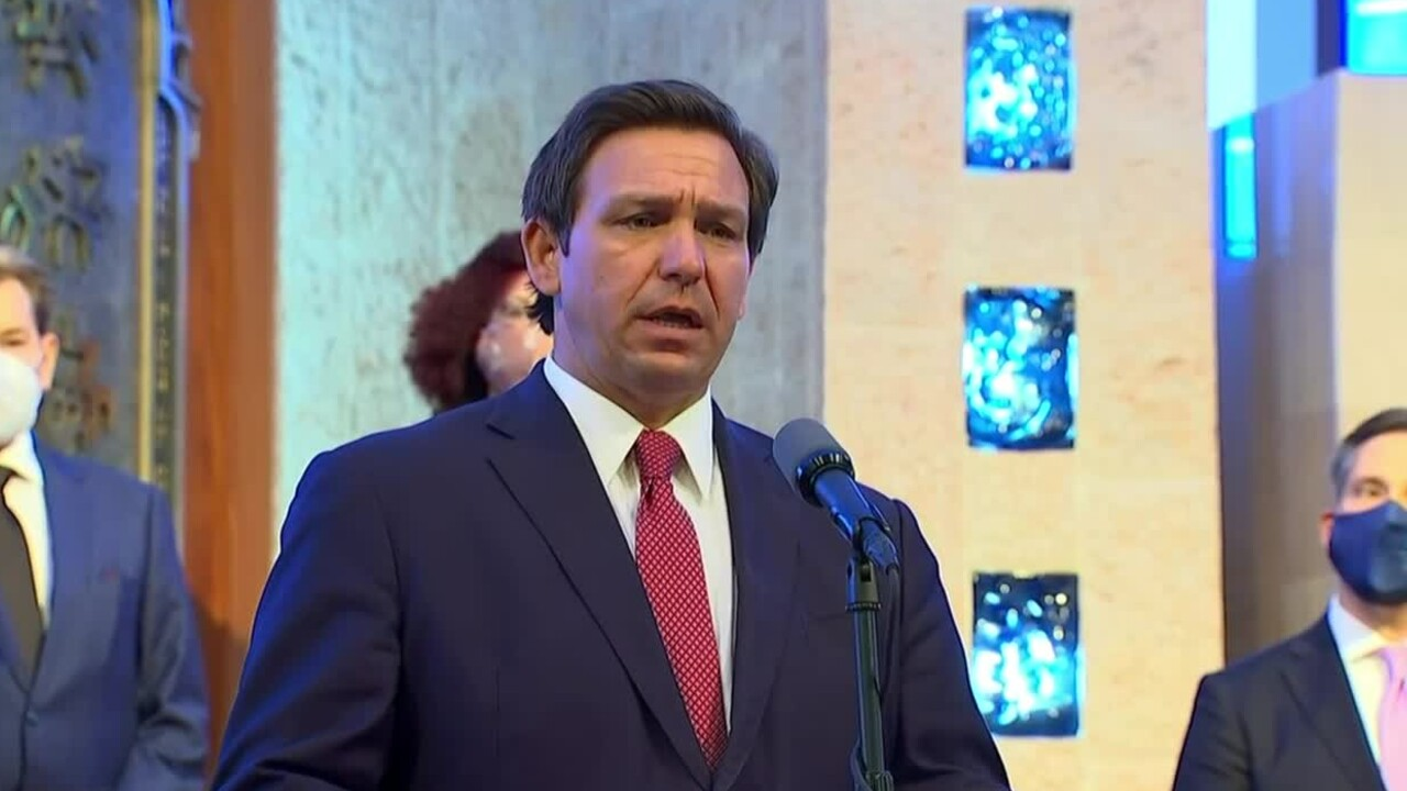Florida Gov. Ron DeSantis gives a COVID-19 update at the Aventura Turnberry Jewish Center on Feb. 4, 2021.jpg