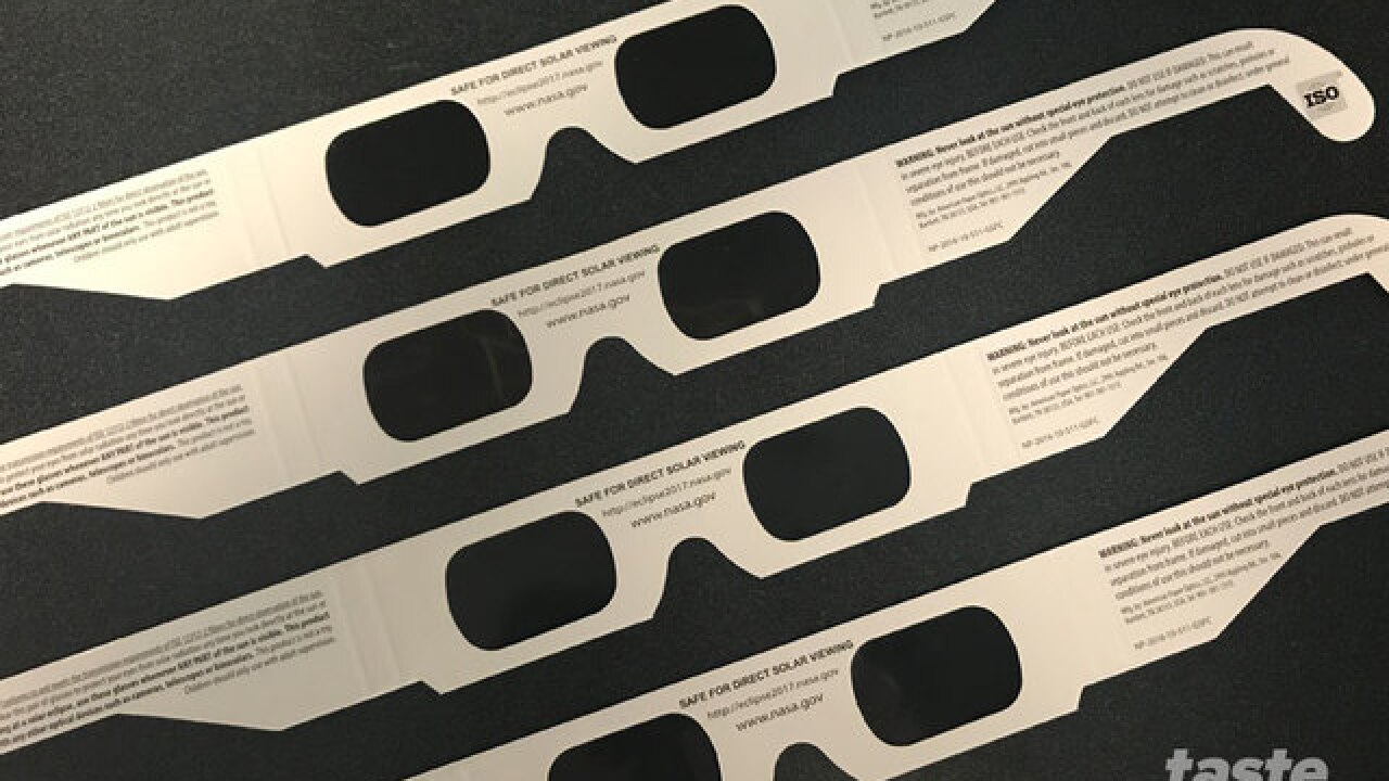 Free solar eclipse glasses for Mandel Public Library cardholders