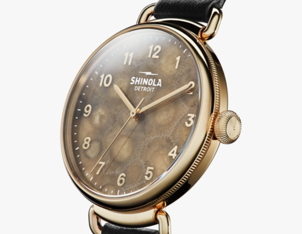 Photo gallery: Shinola releases watches with Petoskey stone face