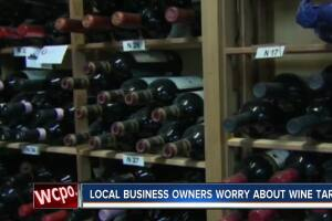 Local business owners worried about wine tariff