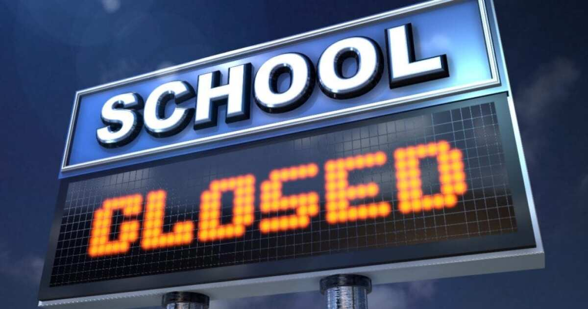 List of schools in Acadiana closing early today