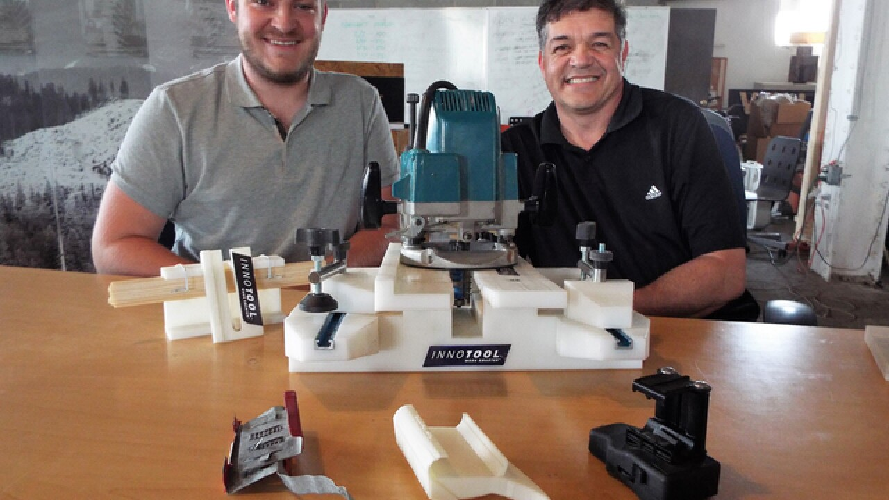 Father, son team up to invent construction tools to make contractors' lives easier
