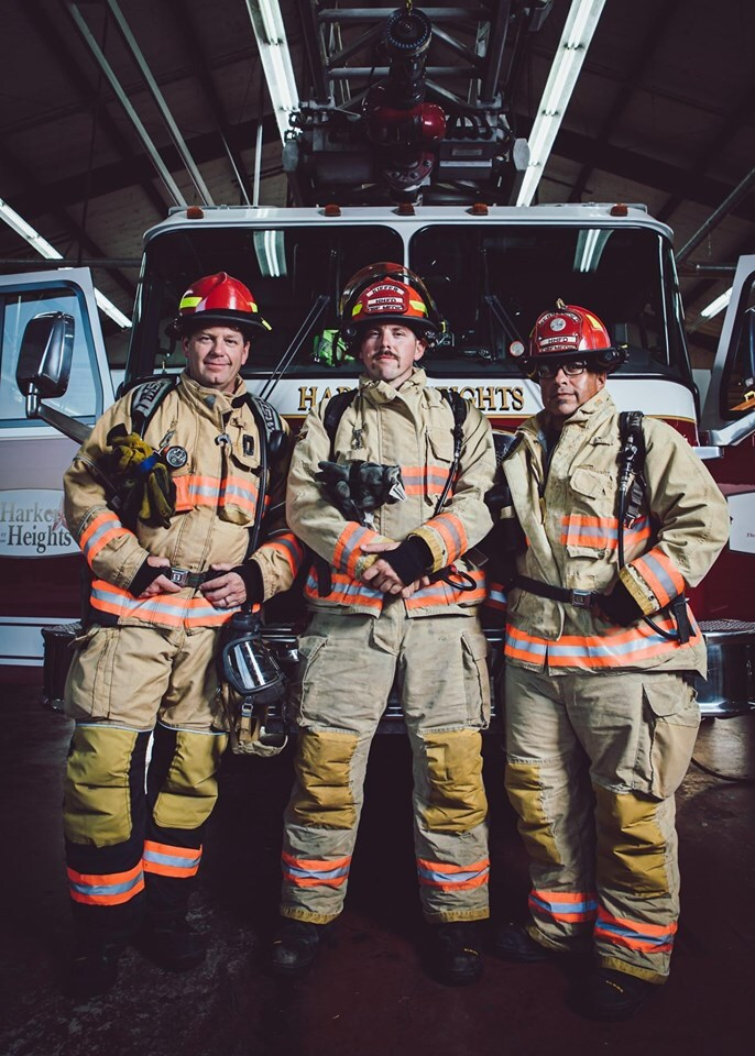 Harker Heights firefighters participate in 9/11 Memorial Stair Climb (Photo by: Harker Heights Fire Department).