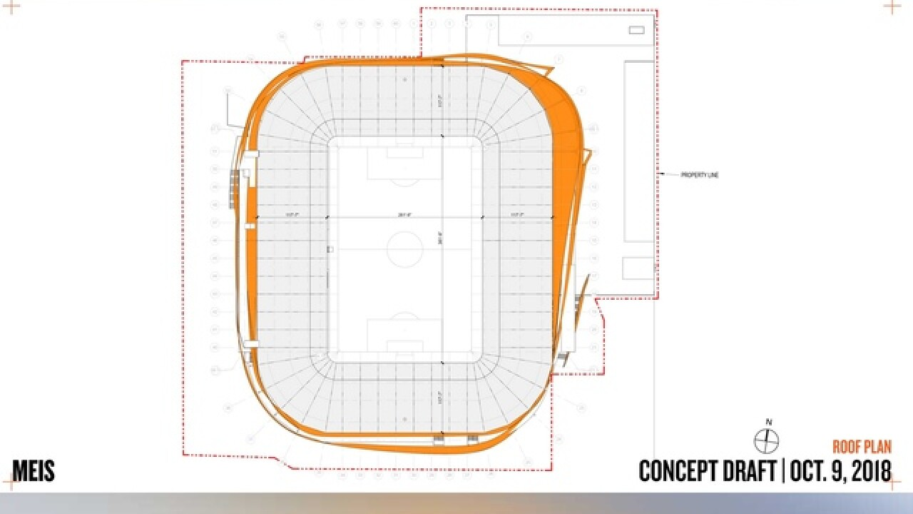 FC Cincinnati shows off new stadium design