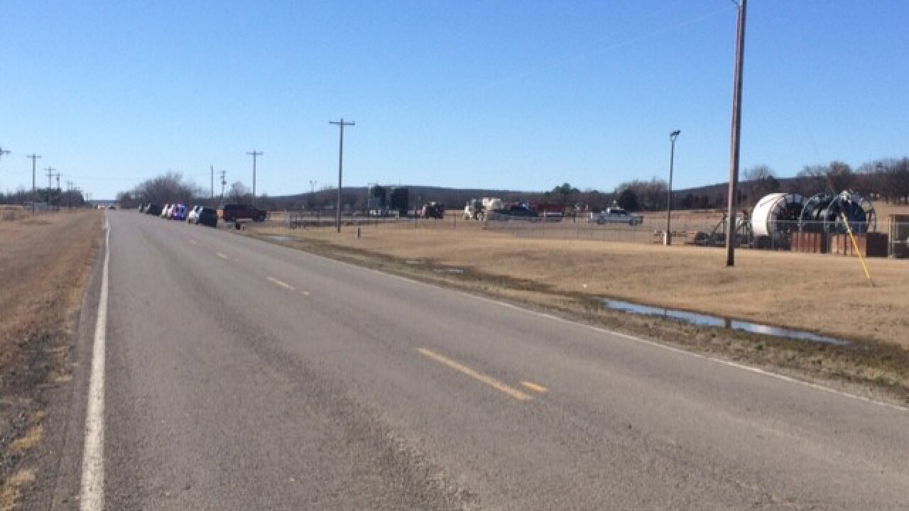 Explosion injures several in Oklahoma