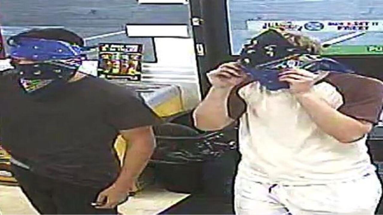 Police seeking weekend armed robbers