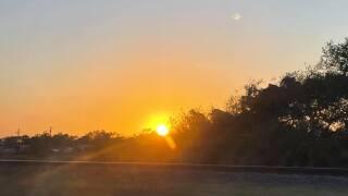 Chapman Ranch Sunset - Photo By: FB Coastal Bend Weather Watcher Lisa M Cayer-Labanino