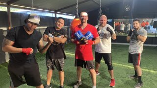 My Passion Veterans boxing at Templo Fitness