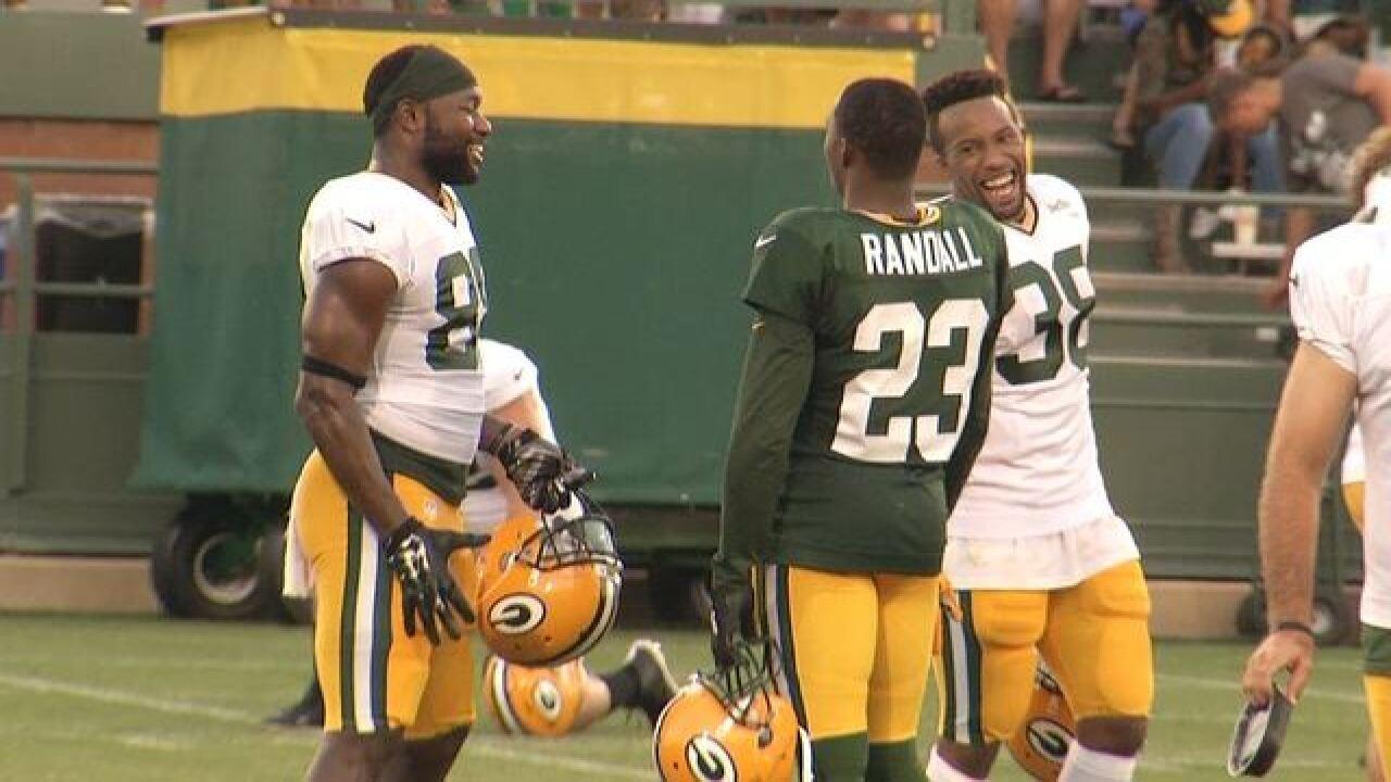 PHOTOS: Cook, Montgomery, Barrington return...