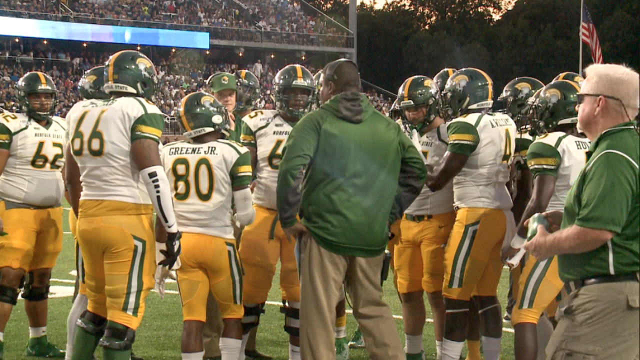 Norfolk State football wraps up non-conference slate against Montana State