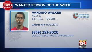 Crime Stoppers Most Wanted Person Of The Week: May 15, 2019