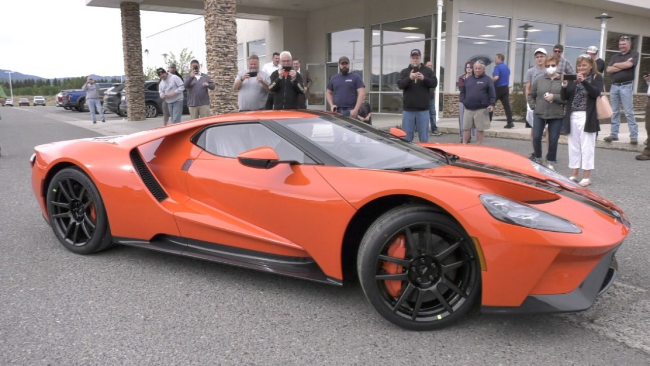 Butte's Tony King selected to purchase limited edition sports car, 2020 Ford GT