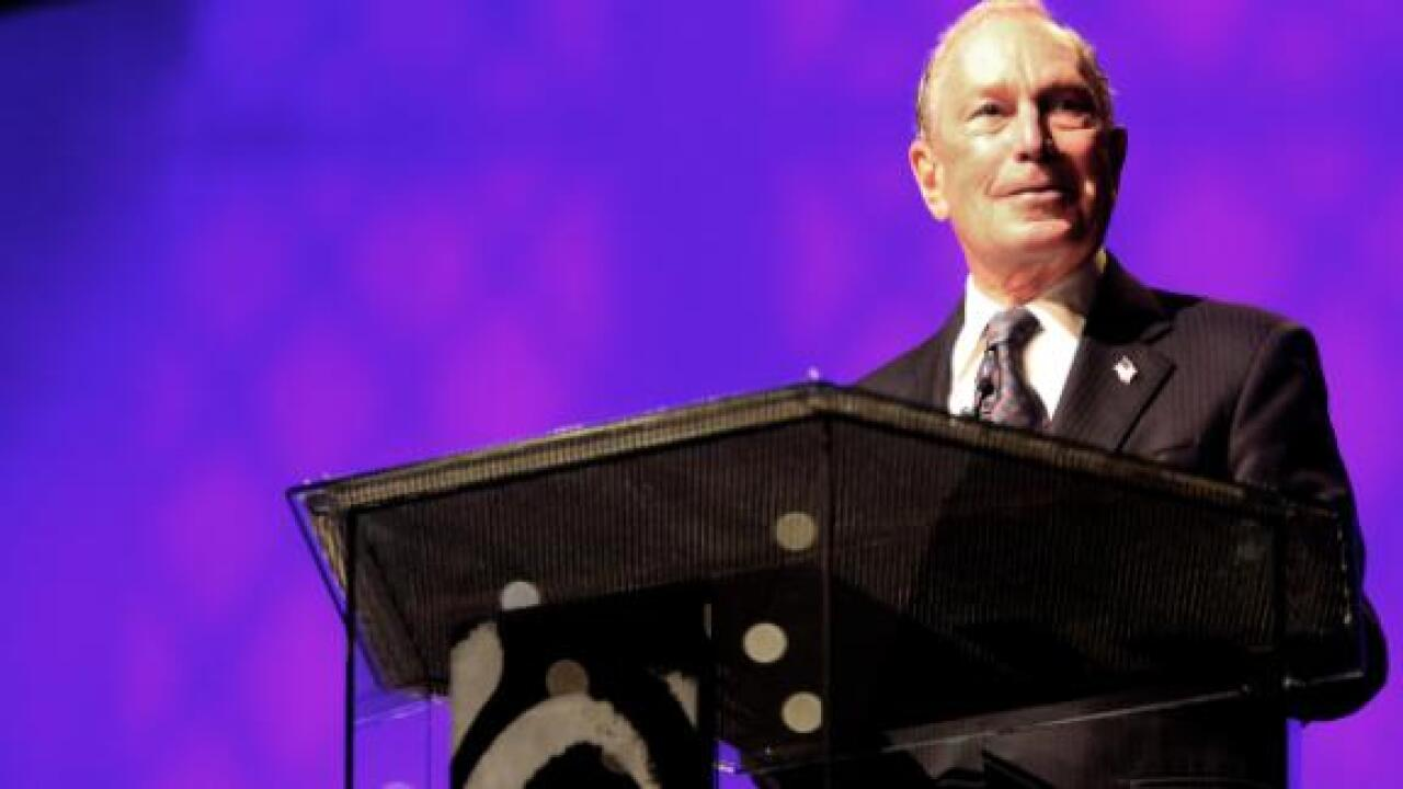 Michael Bloomberg officially enters 2020 presidential race
