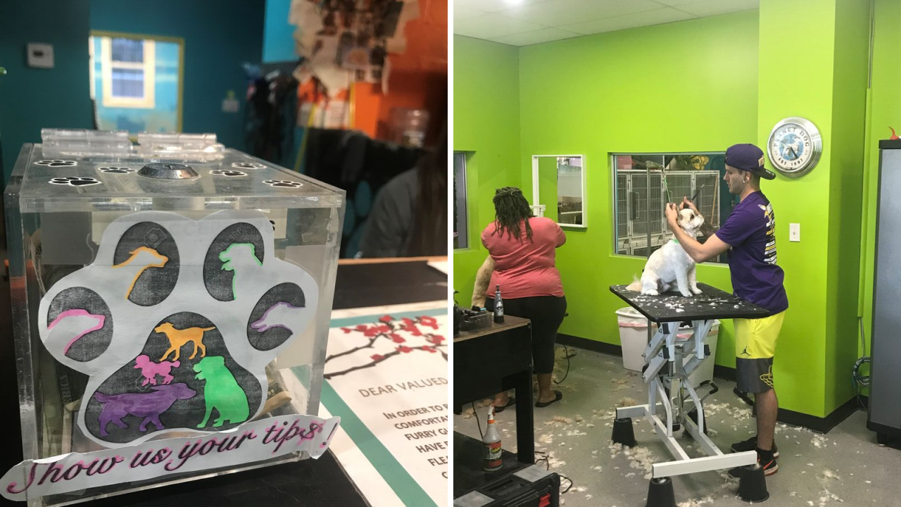Stolen tip jar returned to Norfolk grooming company