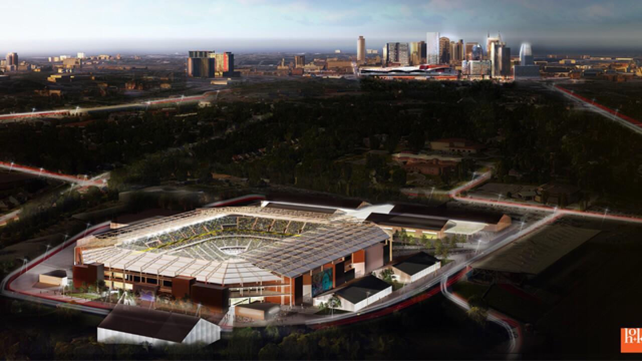Plan Released For MLS Stadium