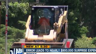 Error leads to nearly $900,000 city expense