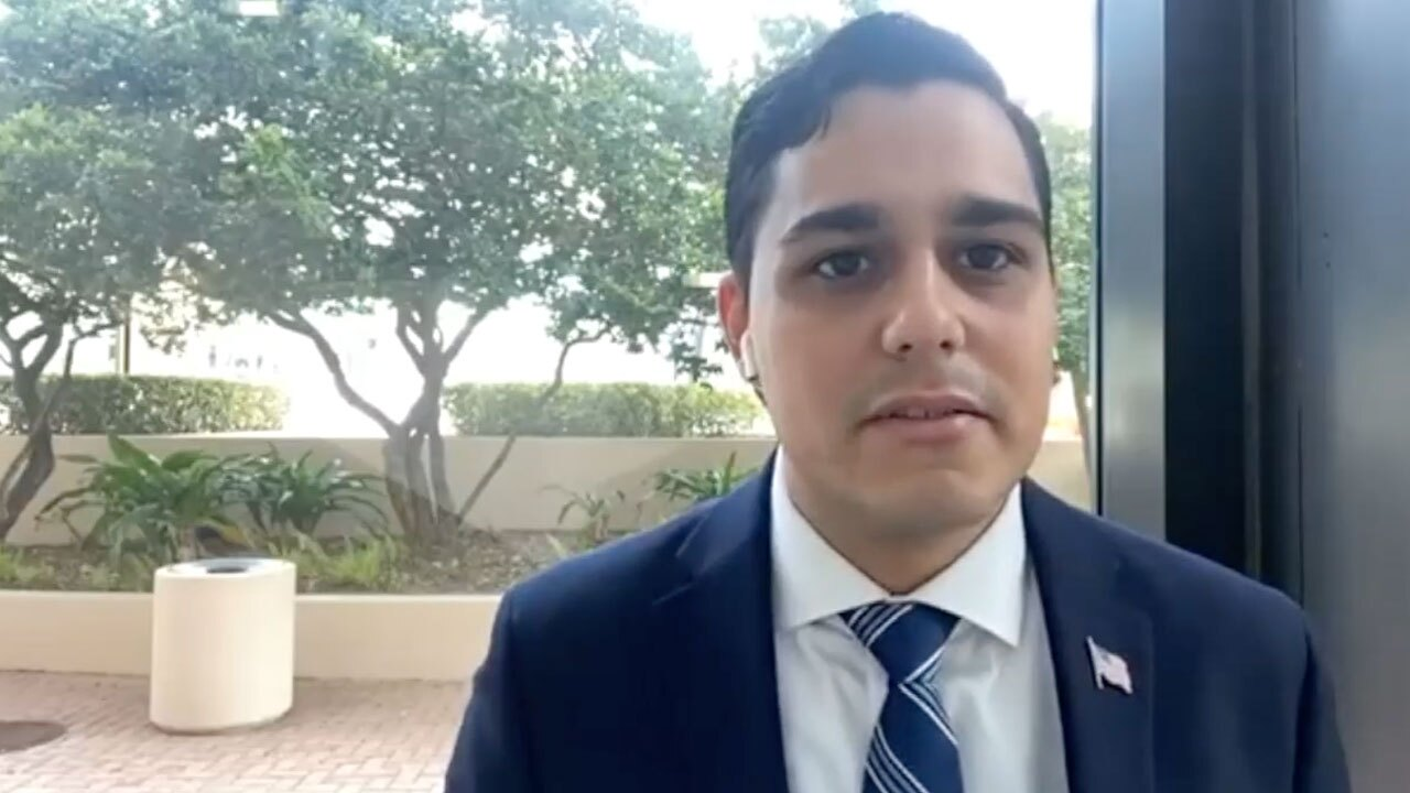 Tom Valeo, head of the Young Democrats of Palm Beach County