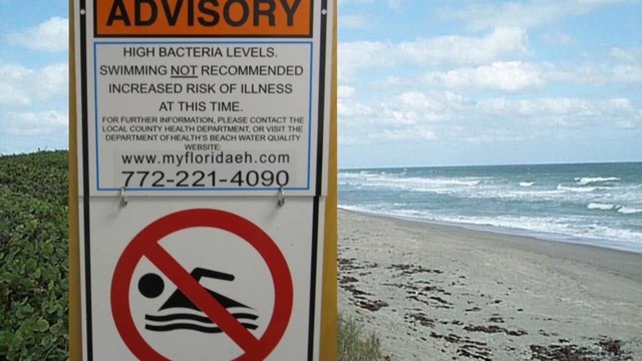 Health advisory issued at 7 beaches in Palm Beach County