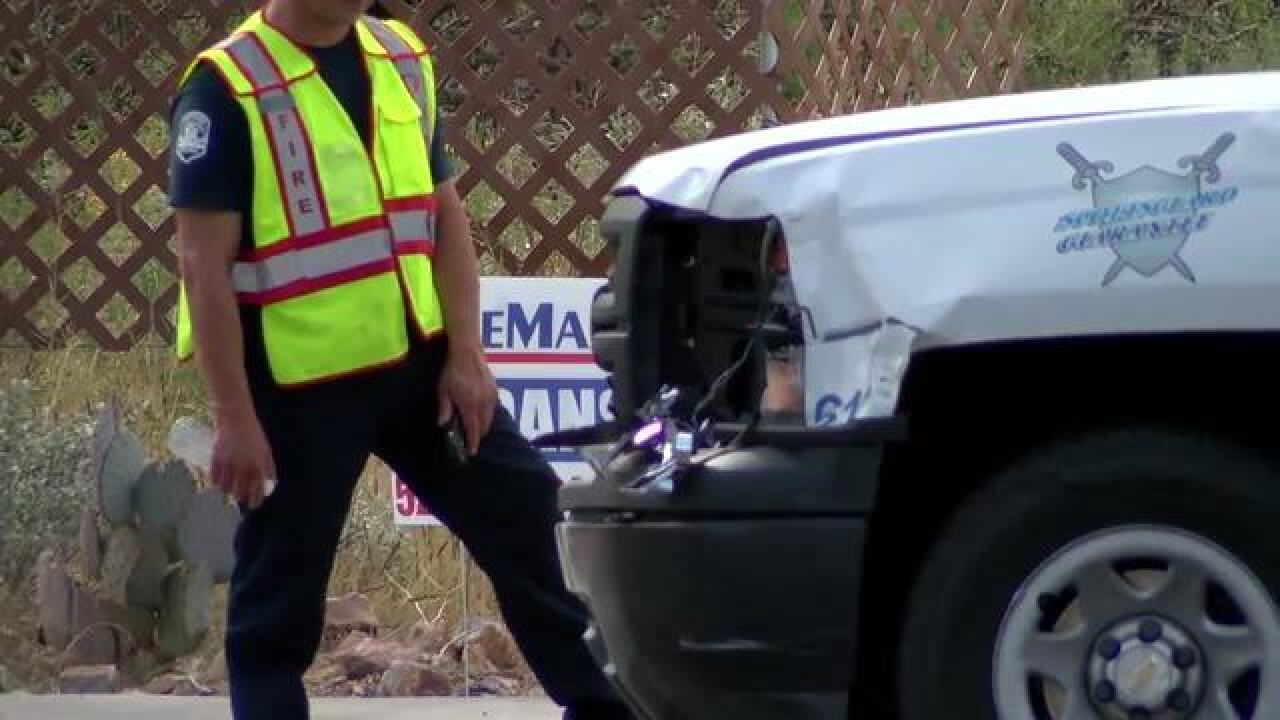 Upgraded TPD equipment to investigate crashes