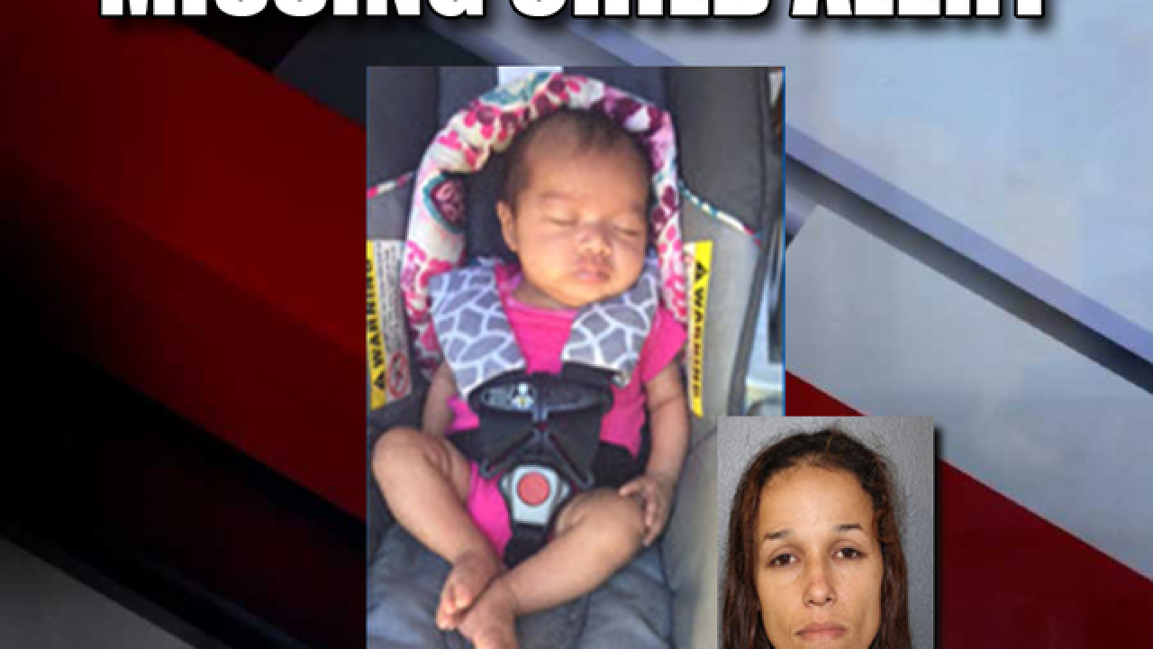 MISSING CHILD Alert issued for 2-month-old