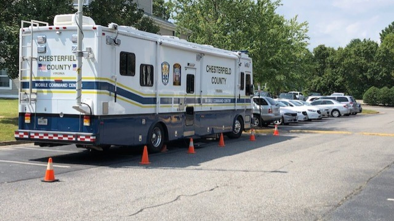 Death investigation underway at Chesterfield apartmentcomplex