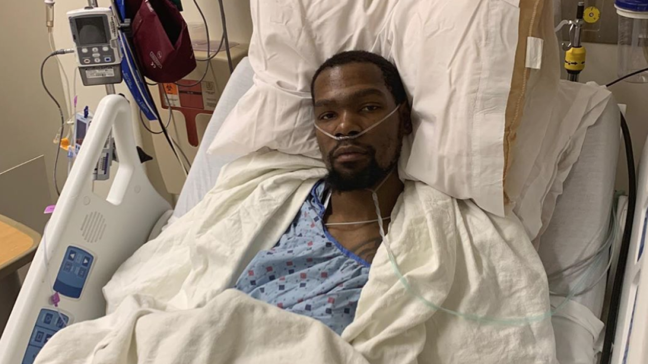 Warriors' Kevin Durant confirms he ruptured his Achilles