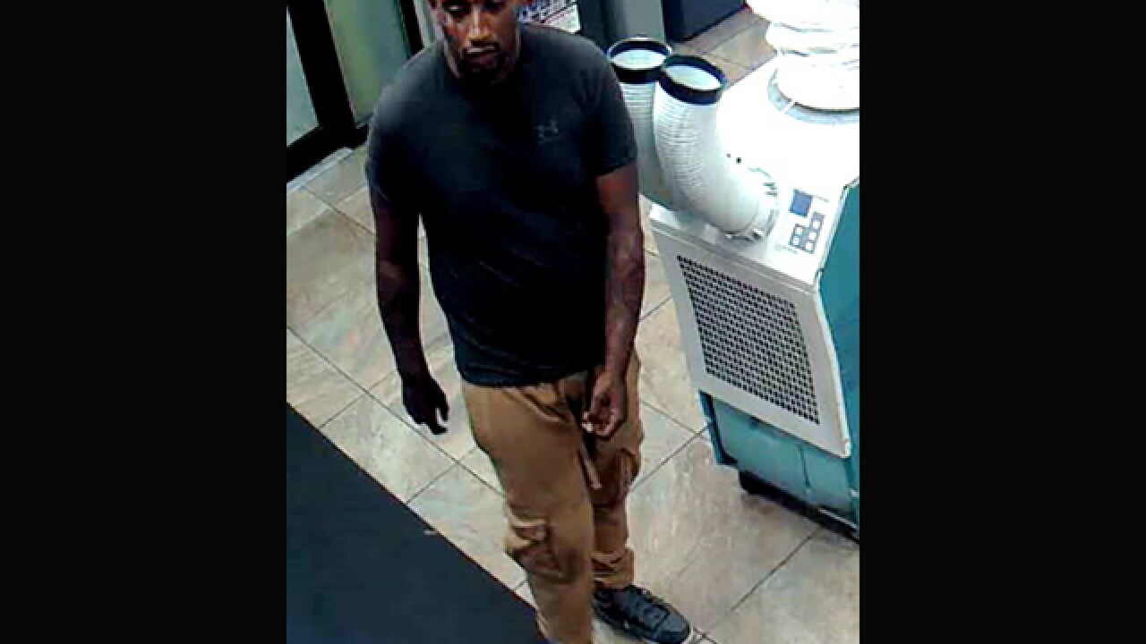 Convenience store robber sought