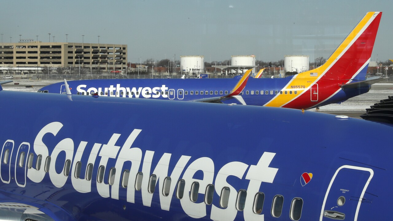 Southwest warns nearly 7,000 workers of possible involuntary furloughs