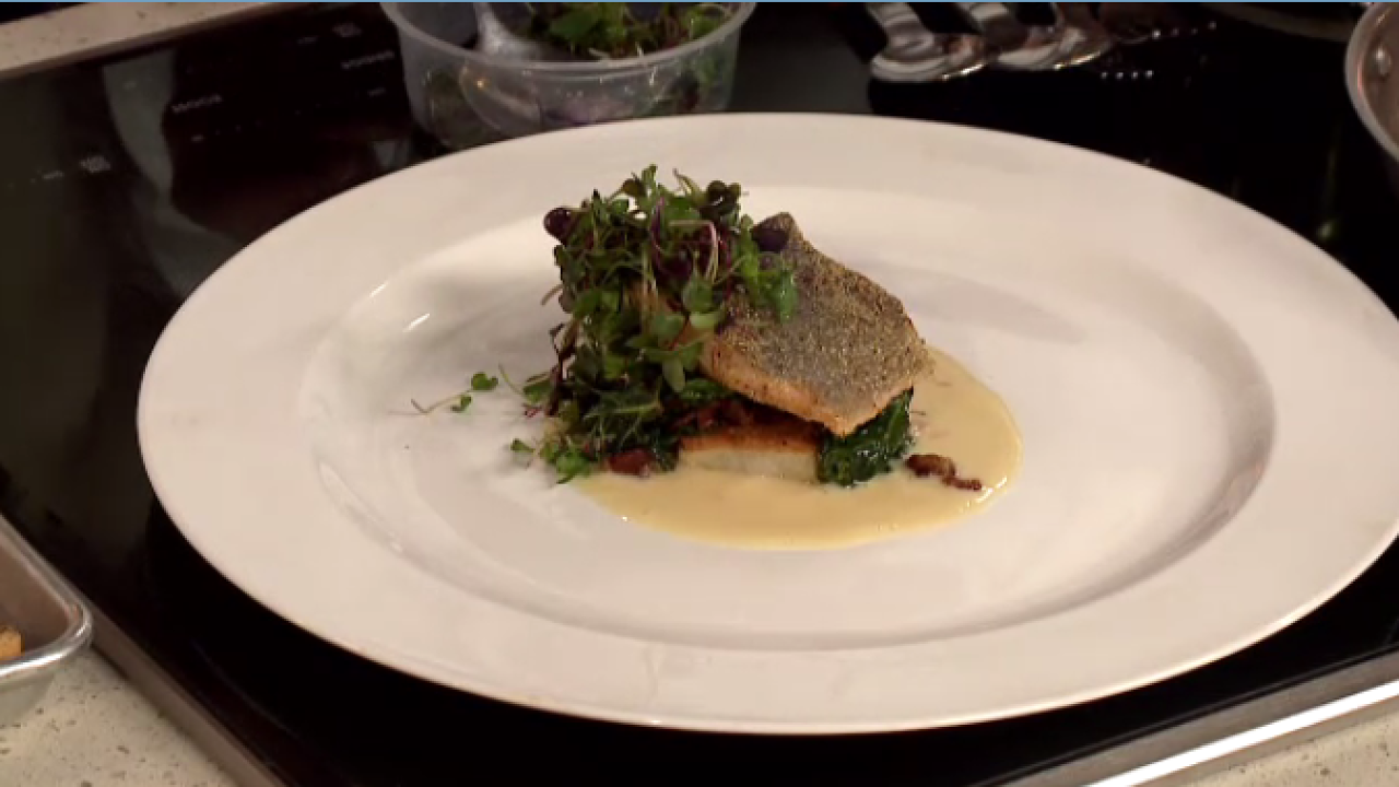 Recipe: Corn Crusted Utah Rainbow Trout
