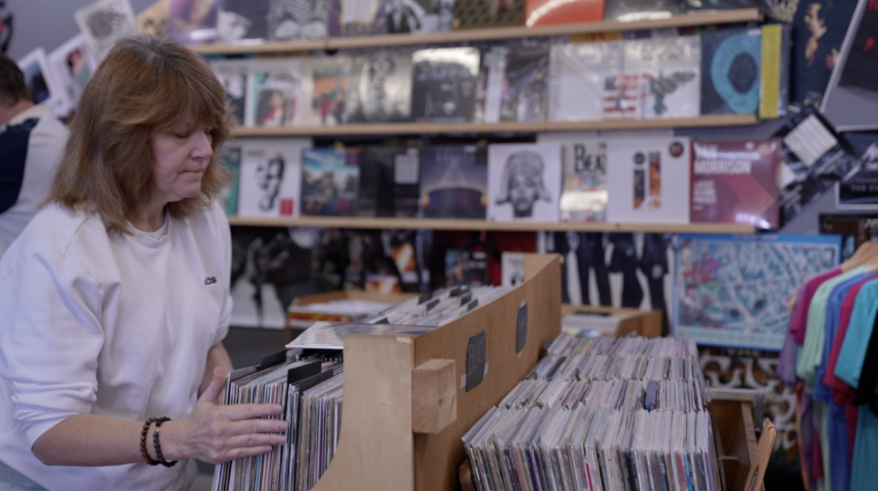 Heather Frarey, owner of The Record Lounge