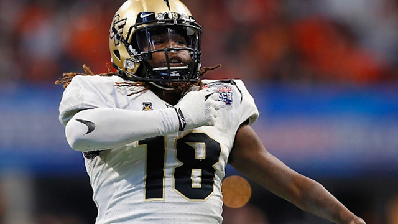 finest selection 3e99a c4653 Shaquem Griffin: One-handed linebacker selected by Seahawks ...