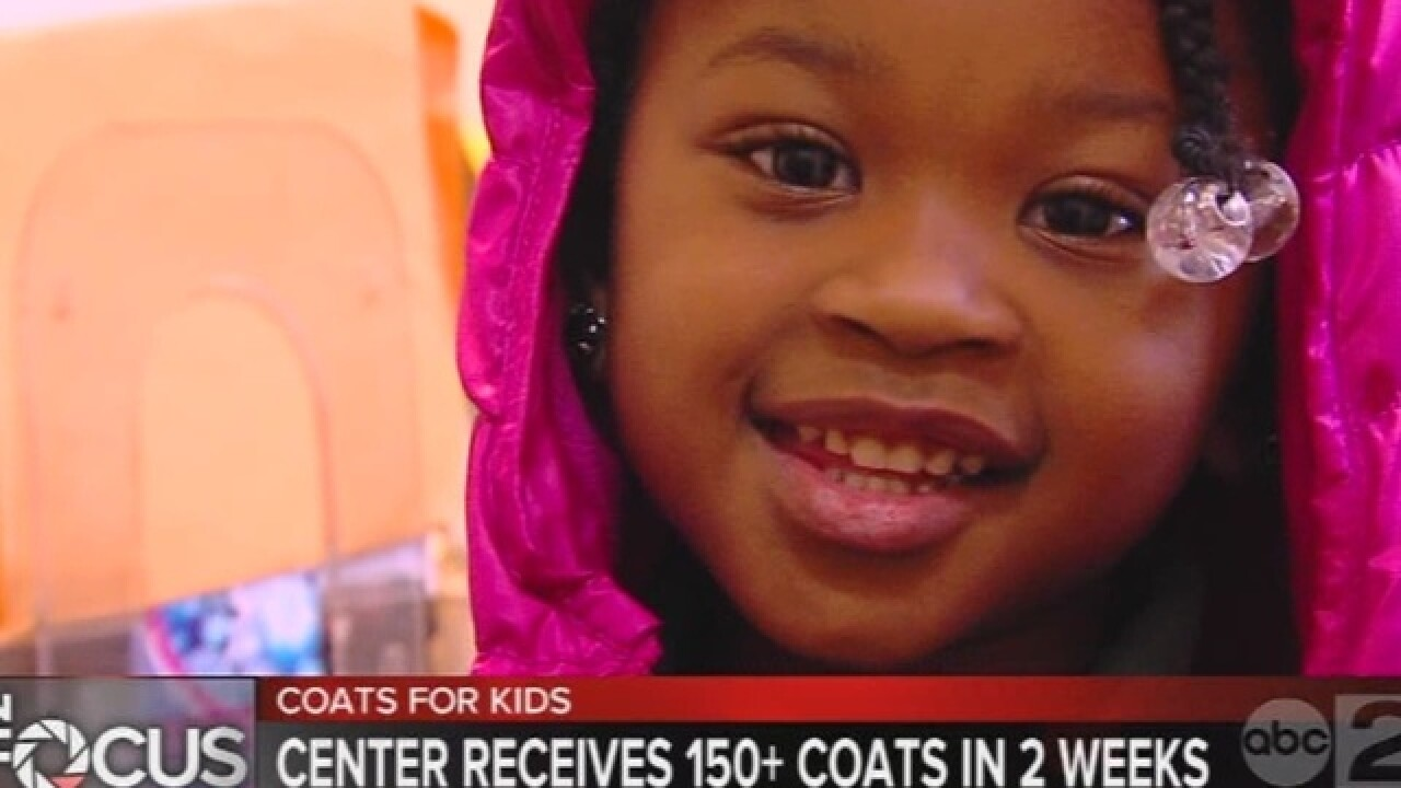 Viewers respond to school's need for coats